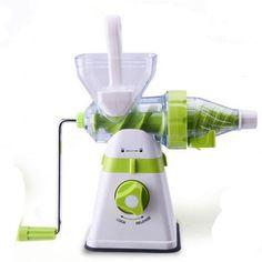 Portable Juicer Manual Slow Extractor Blend Fresh Health Apple/Orange Juicer Machine Corn Kitchen Tools