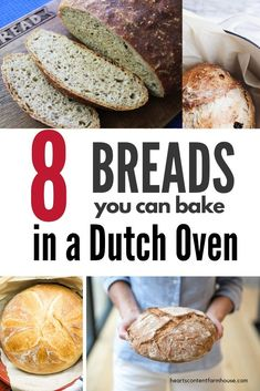 Your Dutch Oven is for more than soups and stews. It's the perfect thing to bake beautiful loaves of artisan bread! Warm up your kitchen with a homemade loaf. These are the BEST Dutch Oven bread recipes! Best Dutch Oven, Dutch Oven Bread, Dutch Oven Cooking, Dutch Oven Recipes, Dutch Oven Sourdough Bread Recipe, Artisan Bread Recipes, Baking Recipes, Tasty Bread Recipe, Camping Menu