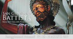 Il Programma della Solenne Festa del Patrono di Ragusa, San Giovanni Battista. Dal 25 al 29 Agosto, le manifestazioni sacre si alterneranno a eventi culturali, sportivi e artistici.