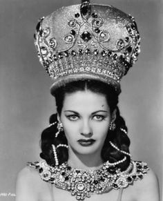 Yvonne De Carlo.....she was at a USO tour during WW II and thought my daddy was a handsome pilot....she kissed him and he used to laugh about that story for years!!!!