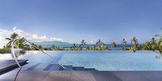 WET Infinity Pool at W-Retreat Koh Samui, Thailand