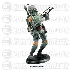 Star Wars Boba Fett 7 1/2-Inch Resin Statue - Attakus - Star Wars - Statues at Entertainment Earth