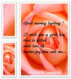 top cute good morning quotes for her,cool romantic good morning love messages :http://www.onetip.net/wonderful-good-morning-messages-for-my-girlfriend/