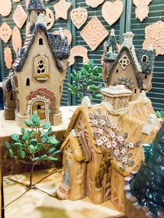 Very Tiny Houses, Daniel Conan Young, Barbarian Pottery Holiday Market, Barbarian, Conan, Tiny Houses, Gift Guide, Gingerbread, November, Home And Garden, Pottery