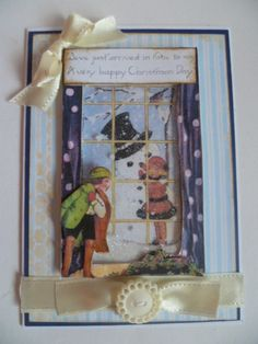Window shaker card using images from The Gecko Galz