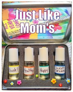 Just Like Mom's ~ But Just For KIDS! { Their Very Own Blends }