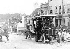 The Lymington and Milford Motor Bus around 1902