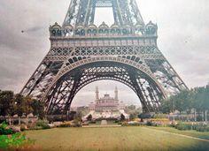 The Eiffel Tower, Paris, 1914