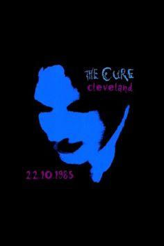 The Cure, Head on the Door promo art. 1985.