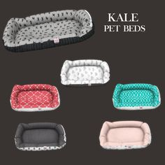 Lana CC Finds - Kale Pet Bed by Leosims