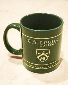MUG - C. S. Lewis college. errr... so, this is why I'm contributing... I want the mug! Don't judge me.    Bem, é por isso que estou contribuindo com a Faculdade C. S. Lewis: Eu quero a caneca! Não me julguem.