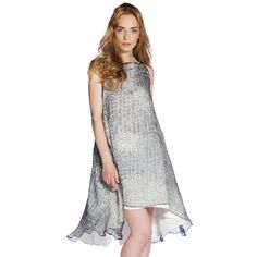 Lolita Dress Grey Print I love that there is no defined waste