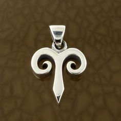 Aries-Zodiac-Symbol-Pendant-in-Solid-Sterling-Silver-Symbolic-Charm