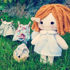 Personalized rag doll by Aida Zamora