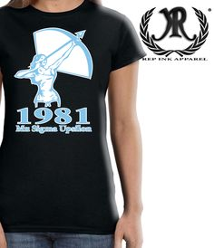 Mu Sigma Upsilon Sorority Inc. Check out all of our designs and organizations at repinkapparel.com