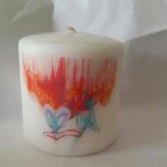 Pink Floyd The Wife candle by chucks on Etsy