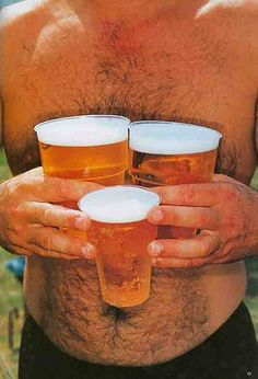 3 Cups of Beer from Think of England © Martin Parr
