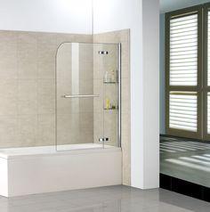 100x140cm Badewanne Dusche Aufsatz Duschwand Trennwand Duschabtrennung | eBay