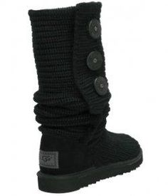 Black Ugg Boots Classic - I have them in black and gold and love em!