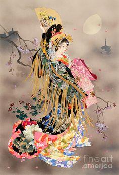 Tsuki No Uta Digital Art by Haruyo Morita
