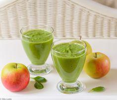 Spinati-õuna smuuti ja kuidas valmistada parimat mahedikku
