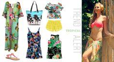 Tropical Prints by Fullah Sugah!  Τα εξωτικά λουλούδια των τροπικών παραδείσων, έρχονται να φρεσκάρουν και να αναζωογονήσουν το στυλ σας, στον κορυφαίο προορισμό του summer chic! #sales #trends #style #bags #sandals #summer_look