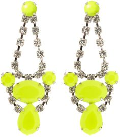 Neon earrings, match with my satchel! ~ ModeMusthaves ~ WANT!