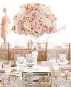 reception wedding flowers,  wedding decor, wedding flower centerpiece, wedding flower arrangement, add pic source on comment and we will update it. www.myfloweraffair.com
