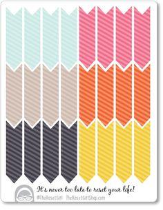 Arrows: DIY Edition - Free Spirit Color Palette - Sweet Stripes