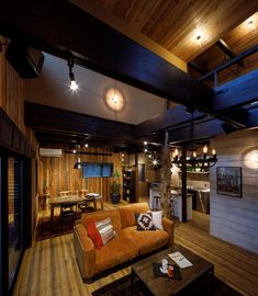 Garage House, My House, Studio Interior, Interior Design, Japanese House, California Style, Scandinavian Design, Track Lighting, House Design