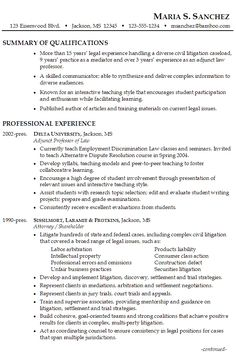 sample resume for a former entrepreneur | distinctive documents ... - Good Resume Examples