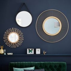 Small baby room: ideas to make this little corner special - Home Fashion Trend Living Room Scandinavian, Living Room Mirrors, Home Office Decor, Home Decor, Wall Design, Interior Inspiration, Diy Bedroom Decor, House Styles, Leroy Merlin