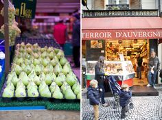 "More beautiful photos from Rue Montorgueil - ""bakeries, cheese shops, and delis a plenty"""