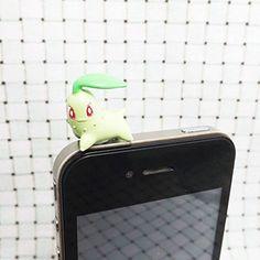 ZOEAST 20%OFF Kawaii Pokemon Green Chikorita Monster Cute Cartoon Pikachu Dust Plug 3.5mm Smart Cell Mobile Phone Plug Headphone Jack Earphone Cap Ear Cap Dustproof Plug Charm iPhone Plug Charm for iPhone 4 4S 5 5S HTC Samsung Ipad 2 3 4 Mini Ipod Blackberry Sony Nokia etc. (Chikorita) Phone Charms/Dust Plugs http://www.amazon.com/dp/B00L9AJ7KO/ref=cm_sw_r_pi_dp_kEuUvb15EM9HG