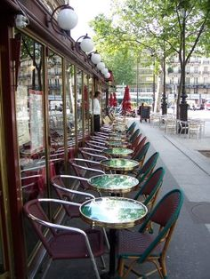 Café Parisien, Like this but My preference is Momart and the Left Bank, my favorite places to visit (for hours)