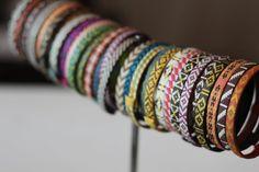 I love funky bracelets!