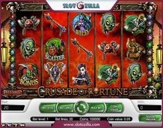 Prepare to embark on medieval fantasy quest. The Crusade of Fortune is an adventurous slot by #NetEnt. The game provides an opportunity to contend fearsome trolls and goblins for their treasure. It is so thrilling!  ★★★ Play right now for free without either deposit or registration ★★★  PLAY HERE ▼ http://www.slotozilla.com/free-slots/crusade-fortune