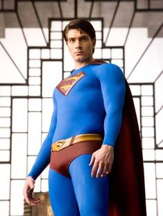 Brandon Routh wasn't shit as Superman! Christopher Reeve, Tom Welling, Dean Cain, George Reeves and current Superman Henry Cavill were the real Supermen in my mind. Superman Photos, Superman Love, Superman Man Of Steel, Superman Art, Brandon Routh Superman, George Reeves, Best Superhero, Superhero Superman, Batman