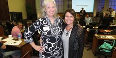 Sharon Wilharm and Diana Schmitt