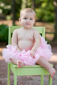 tutu.. Need to find a chair like this!