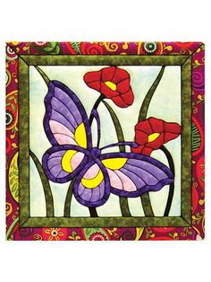 Butterflies Quilt Magic Kit