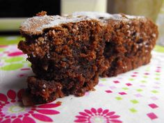 As receitas lá de casa: Bolo de chocolate com avelã