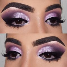 18 Purple Smokey Eye Makeup Ideas to Open the Party Season ★ Smokey Eye Makeup Looks for Brown Eyes picture 1 ★ See more: http://glaminati.com/purple-smokey-eye/ #eyemakeup #eyemakeupforbrowneyes #eyemakeupforgreeneyes #eyemakeupblueeyes