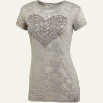 Heart Women's Topnotch Tee #lifeisgood #thinkspring