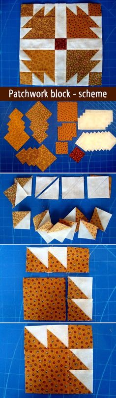Patchwork block - scheme. Step-by-step Tutorial DIY. http://www.handmadiya.com/2012/04/blog-post8649.html