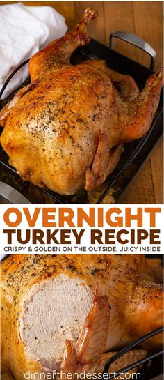 Overnight Turkey Recipe - Dinner, then Dessert
