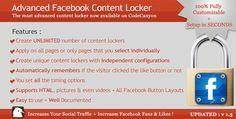 Download Advanced Facebook Content Locker Wordpress plugin - http://wordpressthemes.me/download-advanced-facebook-content-locker-wordpress-plugin/
