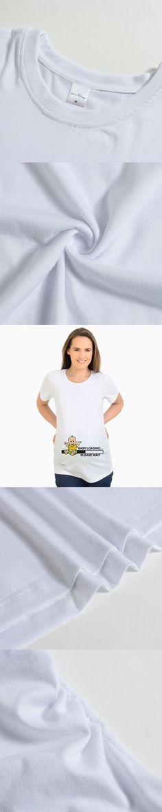 19b5cc1b5 Funny Maternity Clothes Vestidos Pregnancy T-Shirts Tops Baby loading Pregnant  Women Tops Maternity Women