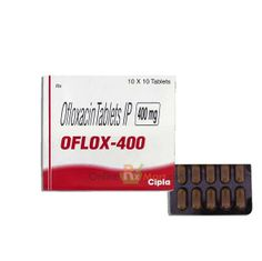 Buy Floxin 400mg Tablets Online from OnlineRxMart at the cheapest price. We are delivering high quality Generic Ofloxacin Tablets online around the globe.