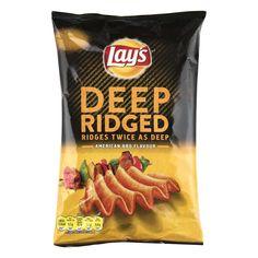 Deep ridged American bbq